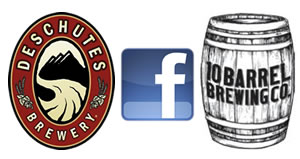 Deschutes, Ten Barrel, Facebook