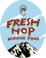 Fresh Hop Mirror Pond - Deschutes Brewery